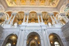Biblioteka Kongresu buduje Washington dc obraz royalty free
