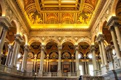 Biblioteka Kongresu, Waszyngton, DC, usa obraz stock