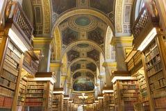 Biblioteka przy Assemblee Nationale, Paryż, Francja Obraz Stock