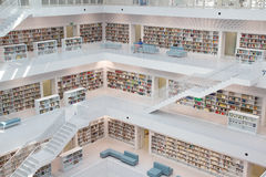 Biblioteka Publiczna Fotografia Stock