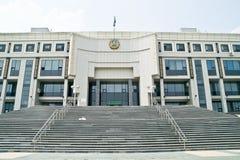 Biblioteka republika Kazachstan Zdjęcia Royalty Free