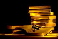 biblioteka tajemnicza Zdjęcie Stock