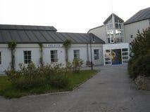 Biblioteka w Rorvik Zdjęcia Stock