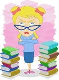 bibliotekarie Royaltyfri Bild