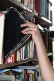 bibliotekarie Arkivbild