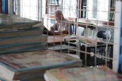 Bibliotekarka Zdjęcia Royalty Free