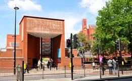 biblioteki brytyjskiej Zdjęcie Stock