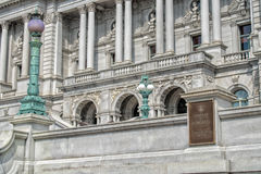 Biblioteki Kongresu washington dc powierzchowność zdjęcie royalty free