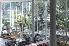Biblioteki publicznej Medellin biblioteca pública piloto dzień otwarcia Grudzień 2018 zdjęcie royalty free