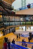 Biblioteki publicznej wnętrze Obraz Stock
