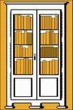 Bibliothèque illustration de vecteur