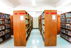 bibliothèque Photo stock