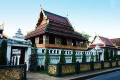 Bibliothèque bouddhiste au sagate de wat Image libre de droits