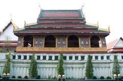 Bibliothèque bouddhiste au sagate de wat Images stock
