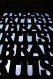 Bibliothèque britannique Photo libre de droits