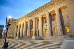 Bibliothèque centrale à Indianapolis images libres de droits
