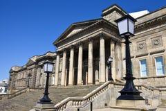 Bibliothèque centrale à Liverpool images stock