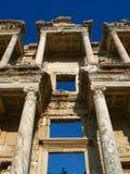 Bibliothèque chez Ephesus Photos libres de droits