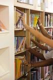 Bibliothèque d'école Photographie stock libre de droits