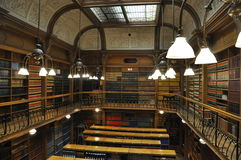 Bibliothèque d'école de droit image libre de droits