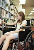 Bibliothèque d'école - livres Image libre de droits