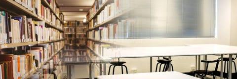 Bibliothèque d'éducation avec la transition de classe illustration libre de droits