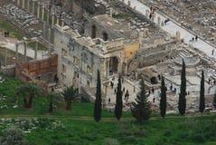 Bibliothèque d'Efes Images libres de droits