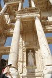 Bibliothèque d'Efes Photographie stock libre de droits