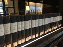 Bibliothèque d'hôtel Photographie stock