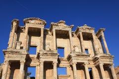 Bibliothèque dans Ephesus antique Image libre de droits
