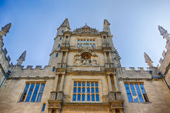 Bibliothèque de Bodleian, Oxford, R-U Image stock