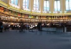 Bibliothèque de British Museum Photo stock