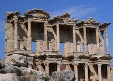 Bibliothèque de Celsus dans Ephesus Photographie stock libre de droits