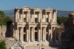 Bibliothèque de Celsus dans Ephesus Image libre de droits