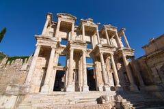 Bibliothèque de Celsus dans Ephesus Photographie stock