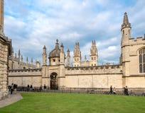 Bibliothèque de Codrington - Oxford photos stock