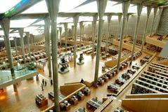 Bibliothèque de l'Alexandrie photos stock