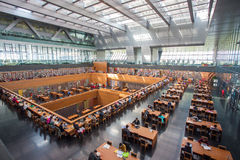 Bibliothèque de la Chine nationale Photos stock