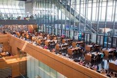 Bibliothèque de la Chine nationale Image libre de droits
