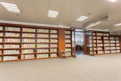 Bibliothèque de la Chine nationale Images libres de droits