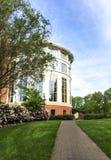Bibliothèque de vallée à l'université de l'Etat de l'Orégon, extérieur rotunda Image stock