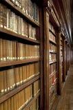 Bibliothèque des livres Photographie stock libre de droits