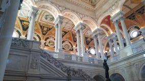 Bibliothèque du Congrès Photographie stock
