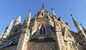 Bibliothèque du Parlement à Ottawa - Ontario, Canada photos libres de droits
