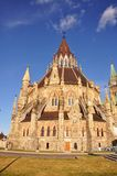 Bibliothèque du Parlement, Ottawa, Canada Images stock