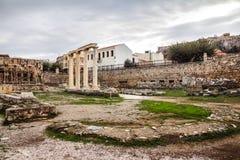 Bibliothèque du ` s de Hadrian Photo libre de droits