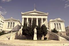 Bibliothèque nationale d'Athènes Photos stock