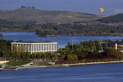Bibliothèque nationale d'Australie - Canberra Photo stock