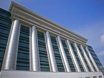 Bibliothèque nationale de Bucarest Photographie stock libre de droits