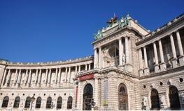 Bibliothèque nationale de Vienne Photo stock